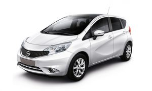 Nissan Note rent a car in limassol