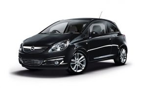 Opel Corsa for car rent in cyprus