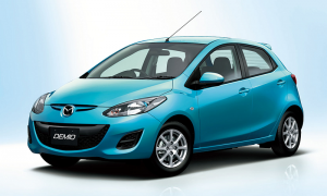MAZDA DEMIO for rent in cyprus